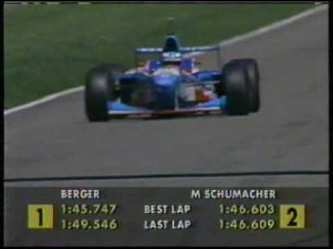 1997 Formula 1 German GP - Gerhard Berger Last Win