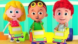 Wheel On The Bus Nursery Rhyme & More Schoolies Songs for Kids