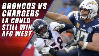 Broncos vs  Chargers: NFL Regular Season Finale