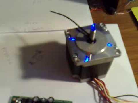 Esmc 04 Stepper Motor Controller Youtube