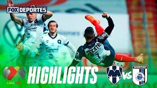 Resumen, Rayados 2-1 Querétaro: Liga MX