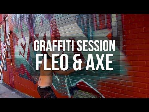 Graffiti Session: FLEO & AXE