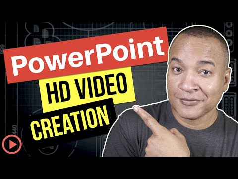 How To Make Videos with PowerPoint 2016 for Windows (NOT Office 365)