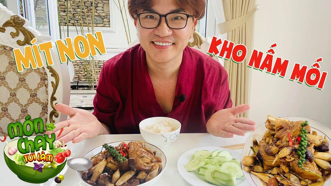 Món ăn chay những ngày dịch MÍT NON KHO NẤM MỐI thơm ngon, lạ miệng   Món Chay Tui Làm tập 88