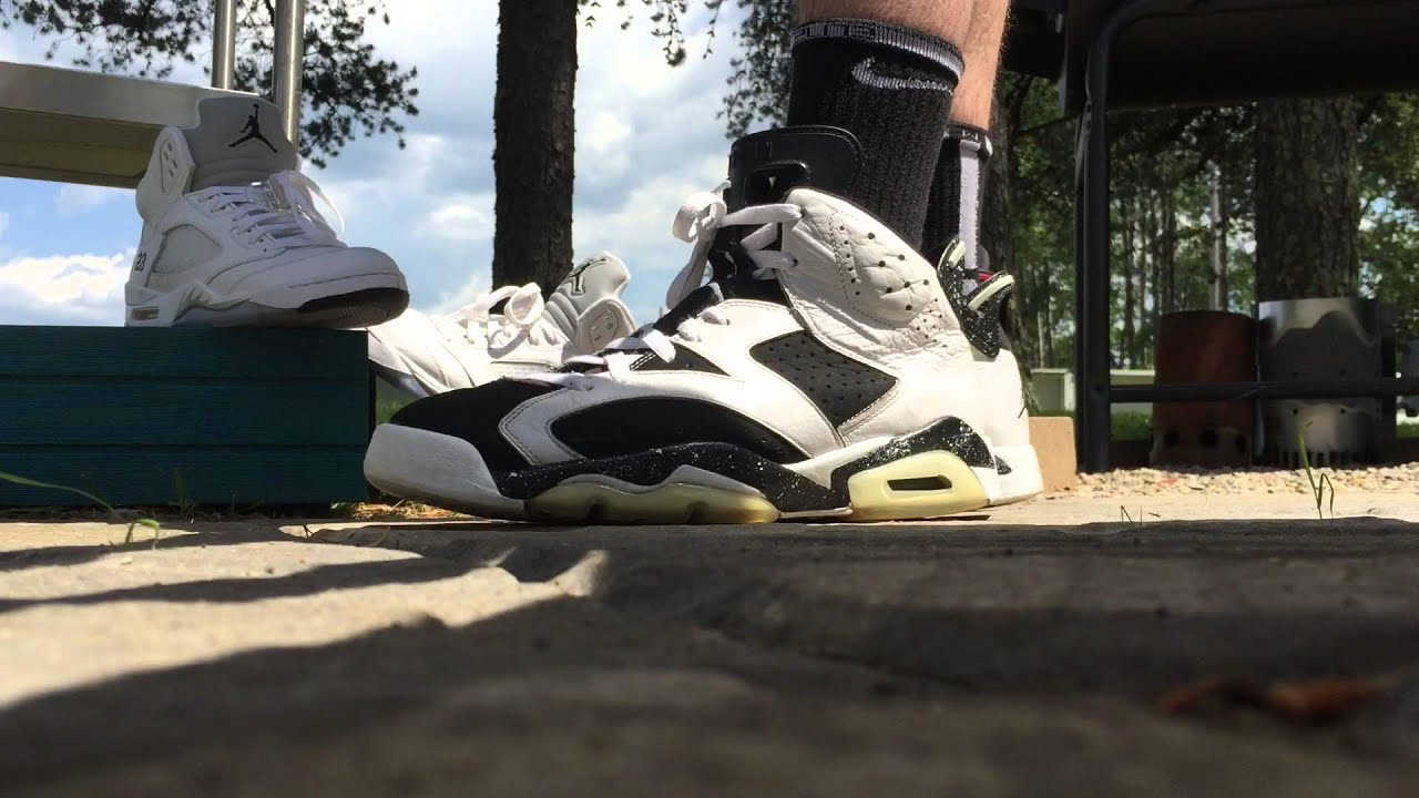 air jordan oreo 6 on feet