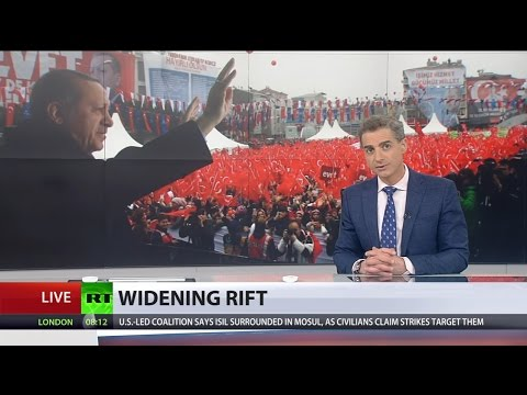 'They should make excuses': Rift between Turkey & Netherlands deepens