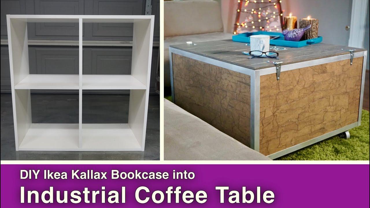 Ikea Hack Diy Coffee Table With Storage