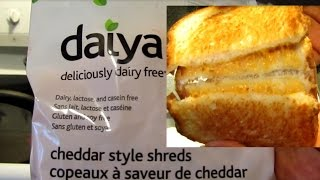"Vegan Grilled Cheese Sandwich--with Daiya ""Cheddar"" style shreds"