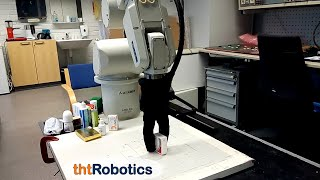 Adaptive Robotic Gripper. Application in the pharmaceutical industry