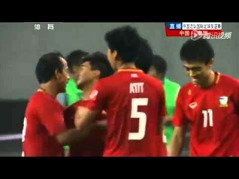 บอลไทยถล่มจีนสุดมัน 5-1 [15/6/2013]