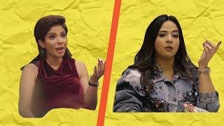 أقوى تصريحات وفاصل من الضحك والكوميديا مع الفنانة ( منى زكي وإيمي سمير غانم ) في برنامج قعدة رجالة