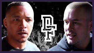 TONY D VS YOUTHORACLE | Don't Flop Rap Battle