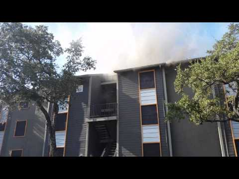 281 and Bitters Canopy Apartments Fire