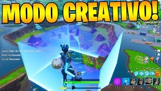 NEW BUG TO HAVE CREATIVE MODE IN THE MAP OF FORTNITE!! 😱🔥