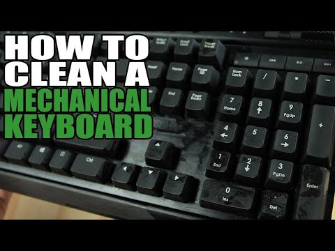 How to clean mechanical keyboard Step By Step [ENG/RUS]