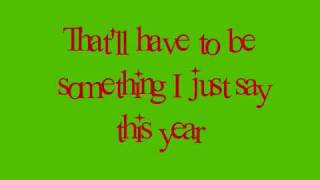 Christmases When You Were Mine-Taylor Swift (with lyrics)
