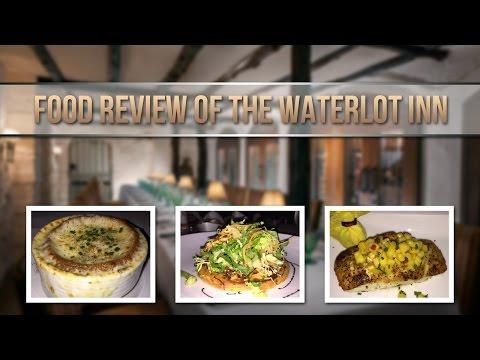 Food Review: Waterlot Inn At Fairmont Southampton, Jan 2017