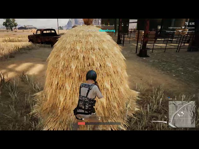 PUBG Miramar magic bullets.