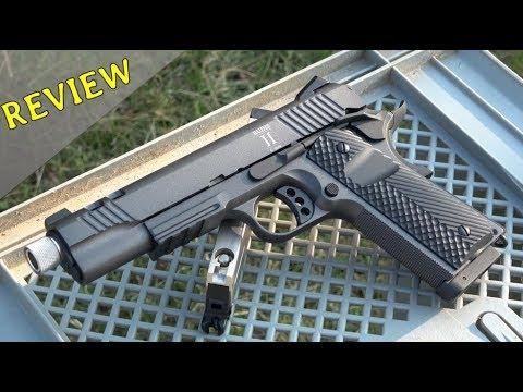 Secutor Rudis 2 CO2 Colt 1911 Review - 4k/UHD *DEUTSCH*