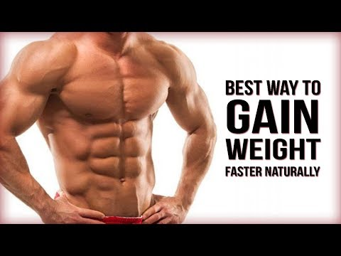 Best way to gain weight faster   Gauranteed results