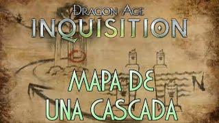 Dragon Age: Inquisition - Guía [1080p] / Mapa de una cascada - Objeto: Corteza de Hierro
