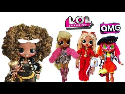 💛💚💝НОВИНКА! Большие ЛОЛ О.М.Г. /Первые ФОТО /LOL Surprise OMG Fashion Dolls First Look