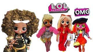 НОВИНКА! Великі ЛОЛ О. М. Р. /Перші ФОТО /LOL Surprise OMG Fashion Dolls First Look