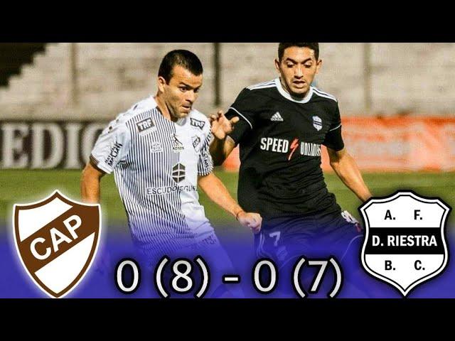 Primera Nacional : PLATENSE 0 (8) - 0 (7) DEPORTIVO RIESTRA | (Reducido) | LOS PENALES