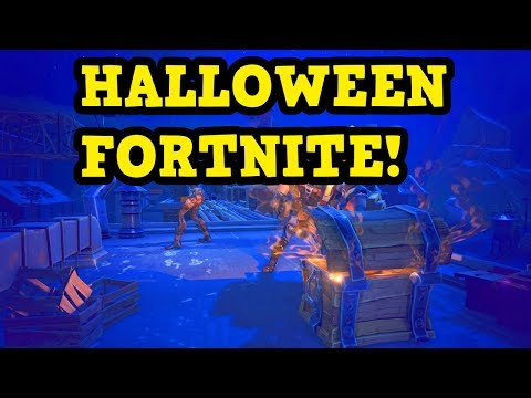 FORTNITE - Battle Royale Halloween SOLO Top 10 Gameplay