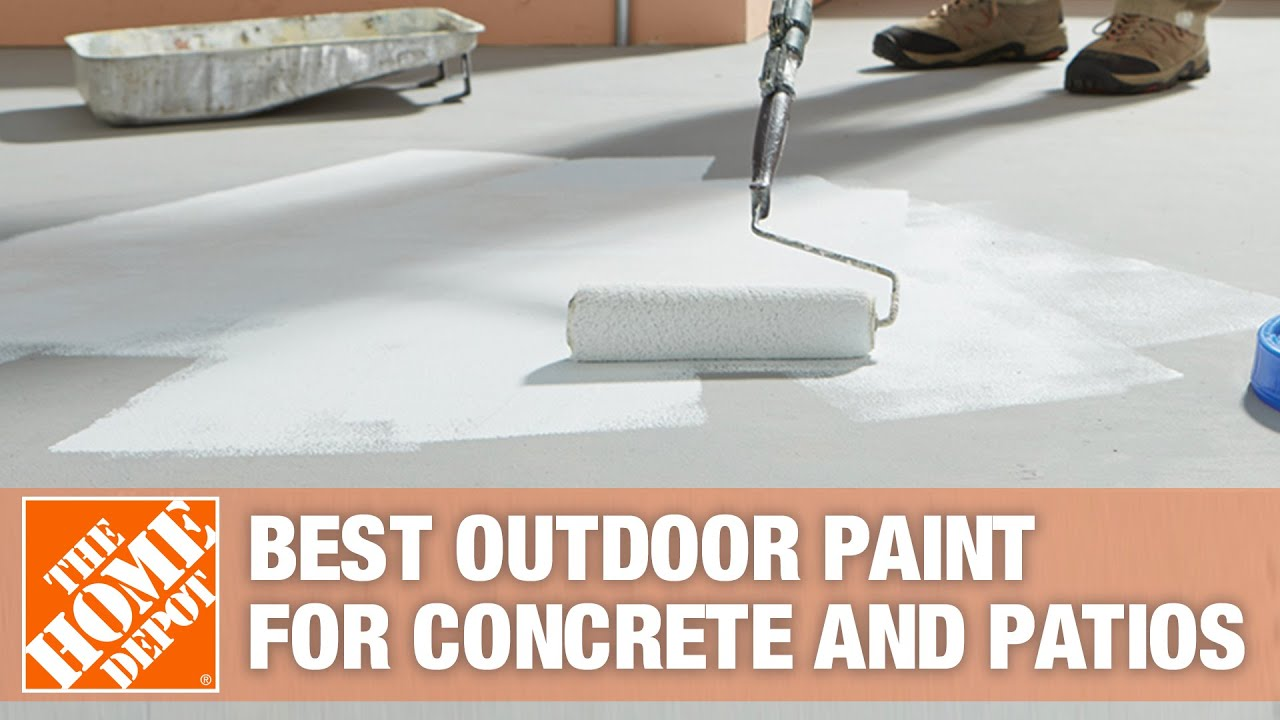 Best Outdoor Paint For Patios And Concrete The Home Depot