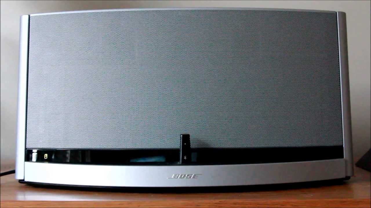 bose sounddock 10 bluetooth digital music system review with sound test youtube. Black Bedroom Furniture Sets. Home Design Ideas