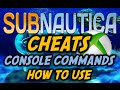 SUBNAUTICA XBOX CHEATS /Console Commands Tutorial (NO LONGER WORKING)