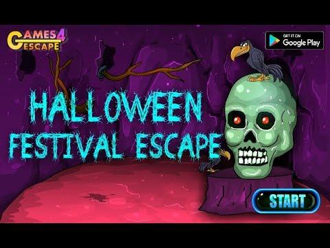 G4e Halloween Skeleton Escape 2020 G4E Halloween Festival Escape Walkthrough [Games4Escape]   YouTube