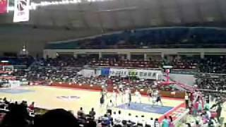 Disturbing song Tan Te (忐忑) played during a CBA game to put off players.flv