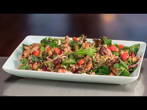 Balsamic Chicken Salad with Lemon Quinoa