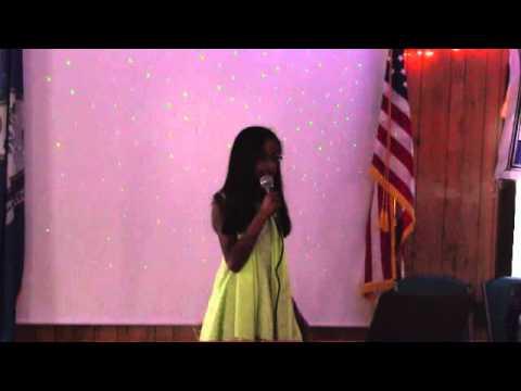 Veda singing Udi Karaoke
