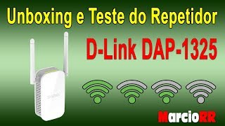 Unboxing e Teste do Repetidor D-Link DAP-1325