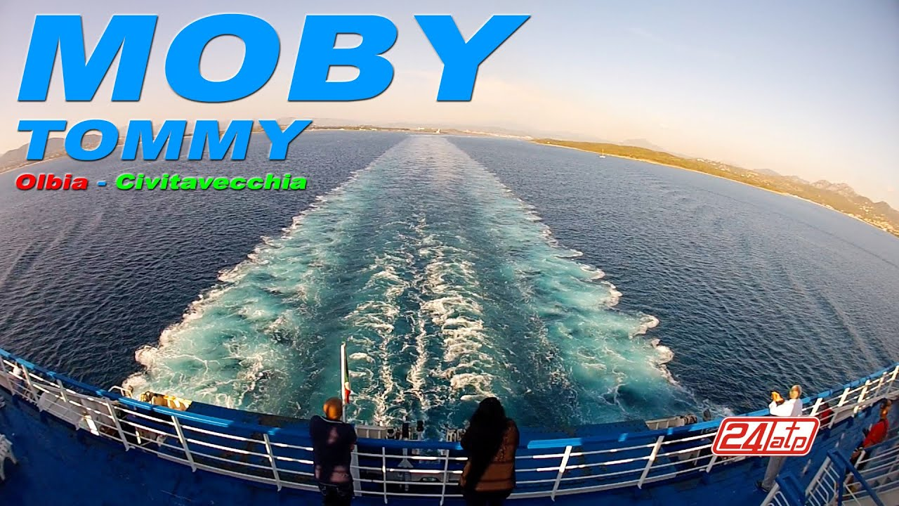 Livorno Olbia Ferry Moby Tommy Olbia To Civitavecchia Port Onboard Ferry