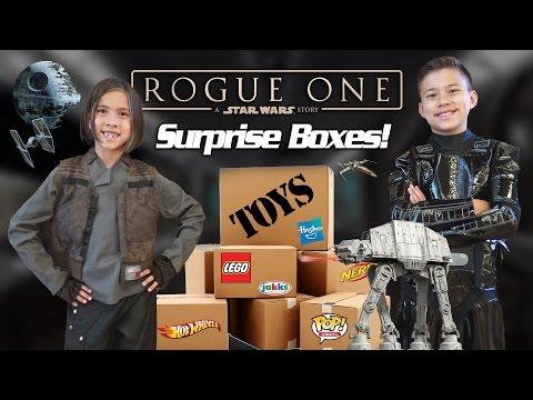 Thumbnail: ROGUE ONE TOY SURPRISE!!! NEW Star Wars LEGO, Hot Wheels, Action Figures and More!