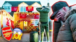 I DESTROYED SPURS FAN'S HOUSE WITH ARSENAL DECORATIONS!😱 | SAVAGE PRANK
