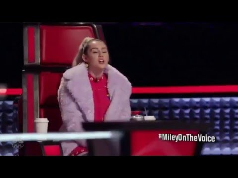 Thumbnail: Miley Cyrus's vocals on The Voice