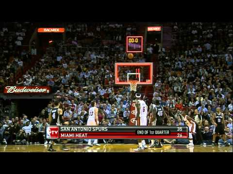 Danny Green hits pair of buzzer beaters!