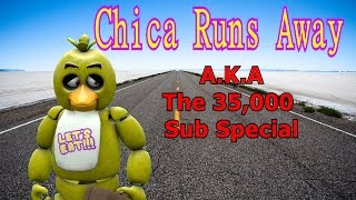 "Freddy Fazbear and Friends ""Chica Runs Away"""
