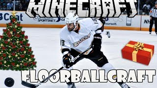 Minecraft - FLOORBALLCRAFT MOD Spotlight | Ice Hockey Mod!