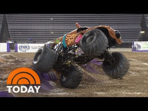 Women Are Breaking Into The Male-Dominated World Of Monster Trucks | TODAY
