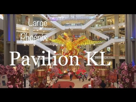 Large Phoenix & Roosters Themed Decor in Pavilion Shopping Mall, Bukit Bintang, KL CNY Celebration