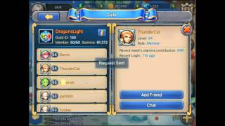 Heroes tactics best way to find new friends! Free stamina