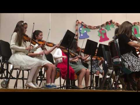 Christmas Concert at Mattacheese Middle School (String Section)