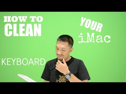 HOW TO CLEAN KEYBOARD iMac - INFOPIDIEPOO