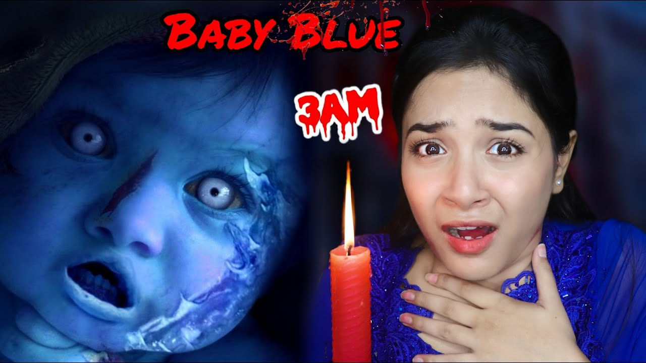 Blue Baby Bauble